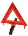 Blank Ground Base Warning Triangle Reflectors, 11