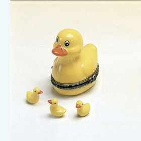 Porcelain Hinged Cute Ducky Box, Price/piece