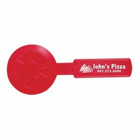 "Illini Pizza Cutter, Pad Printed, 6 1/4"" L X 2 1/2"" W, Price/piece"
