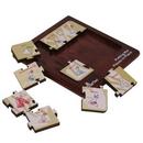 Custom Wood 9 Piece Square Jigsaw Puzzle
