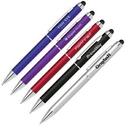 Custom 2-in-1 Stylus Ballpoint Twist Action Pen, 5.75
