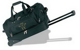 "Rolling Duffel Bag w/ Suitcase (22""x13""x12""), Price/piece"