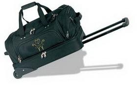 "Rolling Duffel Bag w/ Suitcase (22""x13""x12""), Price/piece"