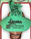 Custom Foam Statue of Liberty Pop Up Visor