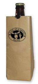16 Oz. Bottle Sip Sac Insulating Beverage Bag - Natural Beige, Price/piece
