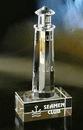 Custom Lighthouse Award - Optic Crystal