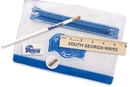 Custom Clear Translucent Pouch School Kit (Pencil/ 6