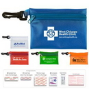 On the Go First Aid Kit #2 w/ Triple Antibiotic Ointment & Vinyl Pouch