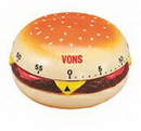 Custom Hamburger 60 Minute Kitchen Timer