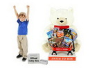 Custom Giant Christmas Teddy Bear 3 Ft. in-store Sweepstakes Giveaway
