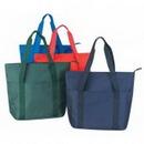 Custom Shopping Tote Bag with Zipper (20