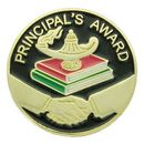 Blank Epoxy Enameled Scholastic Award Pin (Principal's Award)