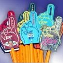 Custom Full-Color Mini #1 Hand Pencil Topper