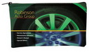 Custom Scuba Foam Horizontal Bank Bag - 4 Color Process (10 1/2