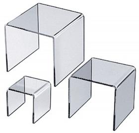 """Acrylic U Riser Stand (2""""x2""""x2""""), Price/piece"""