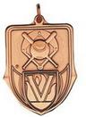 Custom 100 Series Stock Medal (Baseball) Gold, Silver, Bronze