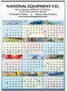 Custom Elements Large Memo Year-In-View Calendar - Thru 5/31/12