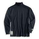 Custom Flame Resistant Long Sleeve Mock Turtleneck