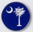 Custom Stock Ball Markers (South Carolina Flag)