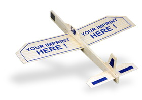 "Balsa Glider Plane with 9"" Wingspan, Price/piece"