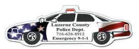 Full Color Digital Police Car Stock Magnet, Price/piece