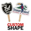 Custom Shaped Hand Fan