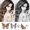 Custom Temporary Tattoo/Tattoo Stickers, 8 1/2
