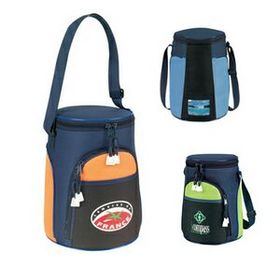 "MDS Pinnacle Insulated 6 & 8 Pack Cooler & Lunch Bag, 8.5"" D X 9"" H, Price/piece"