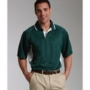 Custom Charles River Apparel Men's Color Blocked Wicking Polo Shirt