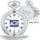 Custom Silver Pocket Watch