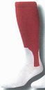 Custom Traditional 2 in 1 Baseball Socks w/ Pattern A Heel & Toe 10-13 Large