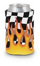 Custom Flames Scuba Pocket Coolie Can Cover (4 Color Process)