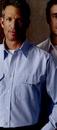 Custom White Men's Long Sleeve Dress Uniform Shirt