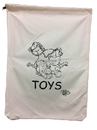 Custom Extra Large Canvas Laundry Bag, 30