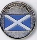 Custom Stock Ball Markers (Scotland/ Flag)