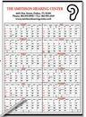 Custom Daily Memo Academic Year-In-View Calendar, 22