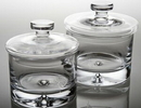 Custom Malmo Biscuit Jar With Lid. Premium Glass., 6.5