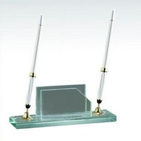 Business Card Holder w/2 Pens Set (Screened), Price/piece