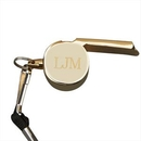 Custom Gold Plated Coach Whistle
