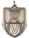 Custom 100 Series Stock Medal (Racquetball) Gold, Silver, Bronze