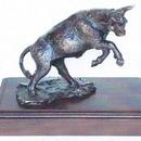 Custom Battling Titans - Bull Sculpture (7