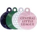 Custom Amcraft - Large Sports Ball Pet / ID Tag (1 1/4