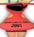 Custom Foam Pepper Pop Up Visor