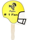 AAKRON Custom Football Helmet Stock Shaped Hand Fan, 7 5/8