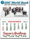 Custom Kwik-Stik 13 Month Vinyl Petite Calendar - Full Color (2 1/2