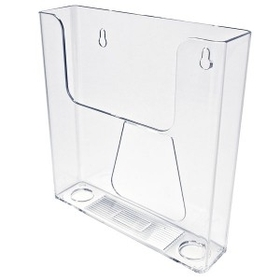 "Single Pocket Wall Mount Brochure Holder (6-1/2""x9""x1-3/4""), Price/piece"