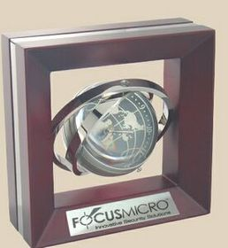 Gyro-Globe Clock & Frame, Price/piece