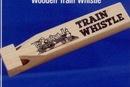 Custom Wooden Train Whistle
