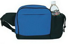 "Goodview 600 Denier Nylon Sport Fanny Pack W/ Drink Bottle Holder, 7 3/4"" W X 7 3/4"" H X 3 1/4"" D, Price/piece"