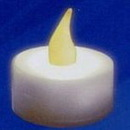 Custom Flicker Mini Candle With Yellow Flame